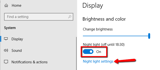 How to Fix Night Light Not Working in Windows 10 - PCSystemFix